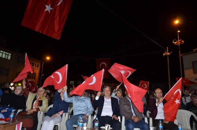 Bünyan'da 15 Temmuz Demokrasi ve Milli Birlik Günü