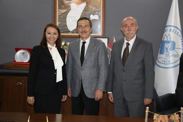 Başkan Ataç'tan Pazaryeri Belediyesine ziyaret