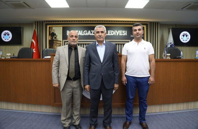 Battalgazi Belediyespor'da yeni yönetim ilk toplantısını gerçekleştirdi