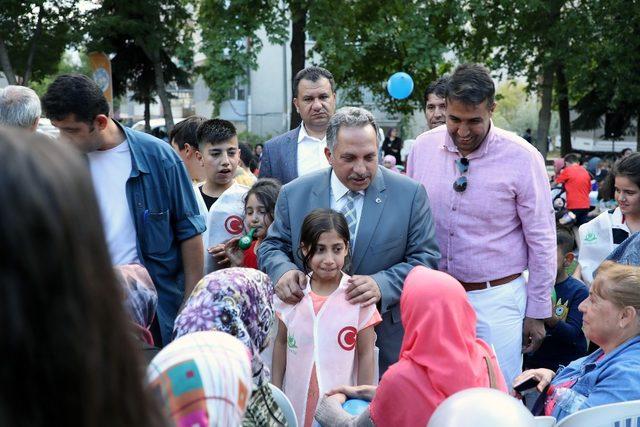 Başkan Yalçın Yenidoğan Mahallesinde