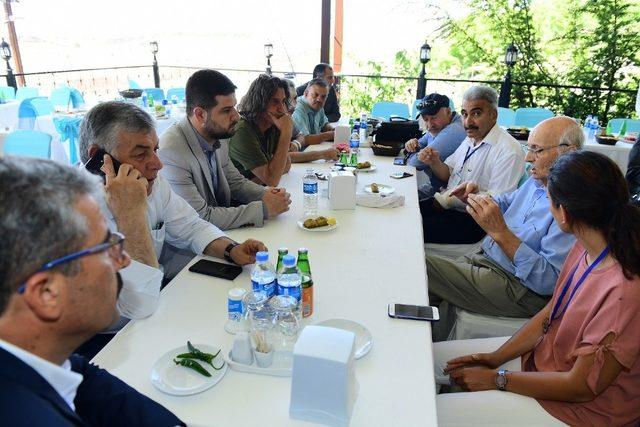 Yeşilyurt Belediyesi TKB heyetini ağırladı