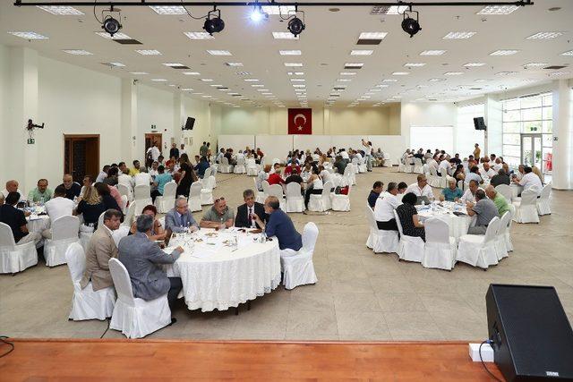 Mersin'de 3 gün sanat ve spor konuşuldu