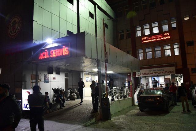 Gümüşhane'de silahlı saldırı: 1 ölü