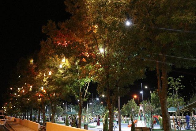 Gençlik Parkı'nda renk cümbüşü yaşanıyor