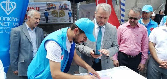 """İl Müftüsü Prof. Dr. Şahin Güven: """"Halkımıza teşvik olması için bizler de 'Vekalet Yoluyla Kurban Bağışı''nda bulunuyoruz"""""""