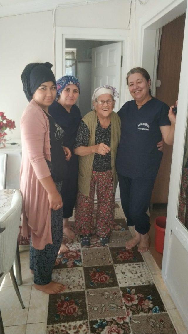 Şehit ve engelli bireylerin ailelerine temizlik hizmeti