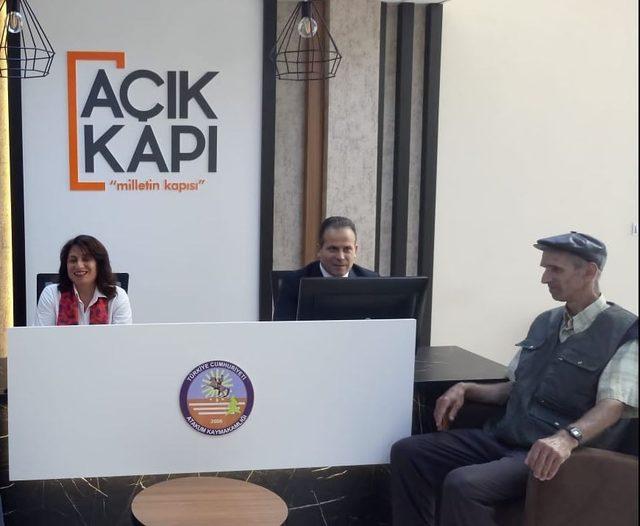 Samsun'da 6 ilçede Açık Kapı Büroları oluşturuldu