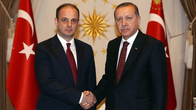 Çetinkaya ve Erdoğan'ın Mayıs 2016'da gerçekleştirdiği bir görüşmeden