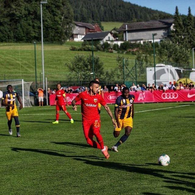 Kayserispor ikinci hazırlık maçından da mağlup ayrıldı