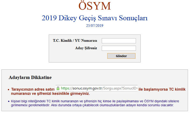 dgs-sonuc-sorgulama-sayfassi
