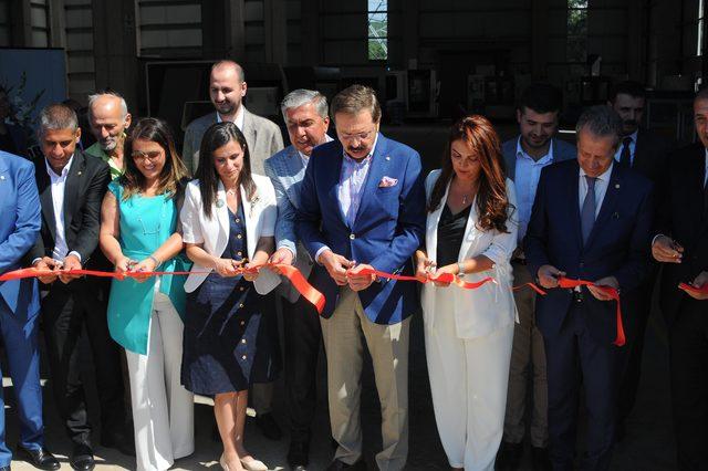 TOBB Başkanı Hisarcıklıoğlu, Kocaeli'de açılışlara katıldı