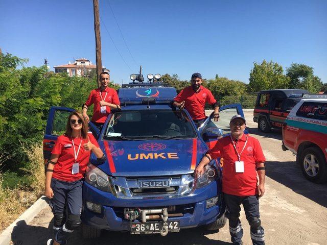 UMKE ekibi Kars'a döndü