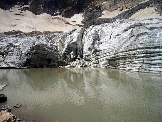Cilo Dağları'nda buzulların erimesi endişelendiriyor