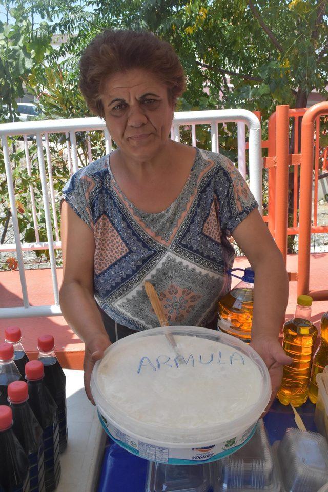Ata Ekmeği ve Armola Peyniri Festivali'nde yöresel tatlar ilgi gördü
