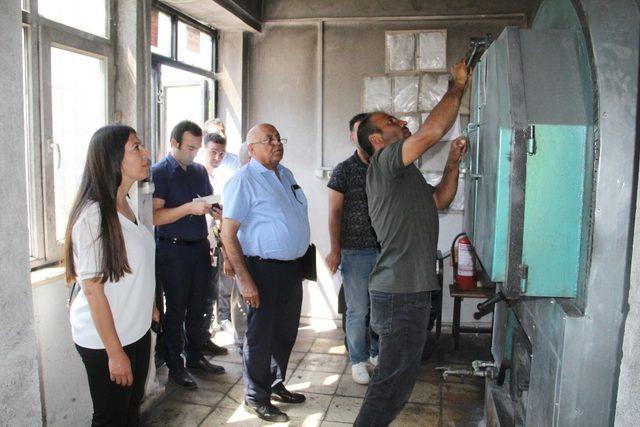 Tunceli'de eğitim kurumları denetlendi