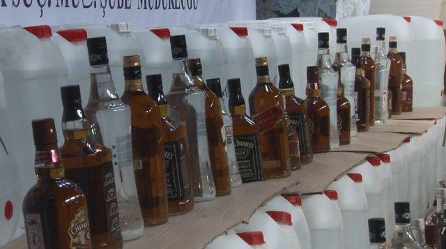 (Geniş haber) İstanbul'da sahte içki operasyonu