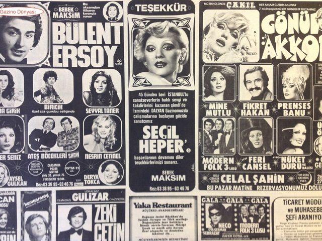 Eğlence Tarihini Baştan Yazan Maksim Gazinosu ve Kadınlar Matinesi