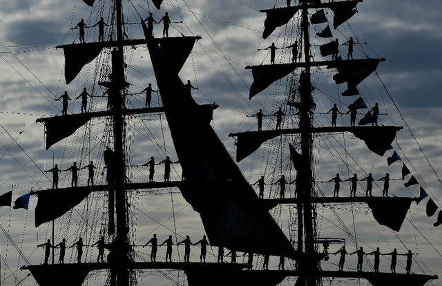 14 ülkeden 170 yelkenli Rostock'ta buluşuyor