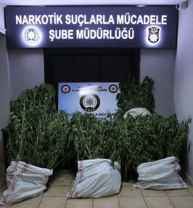 Tunceli'de uyuşturucu operasyonu: 2 tutuklama