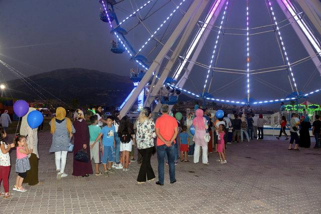 Türkiye'nin en büyük eğlence merkezlerinden biri Kahramanmaraş'ta açıldı