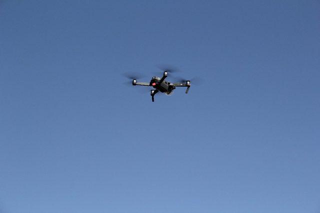 Şuhut'ta Kurban Bayramı dolayısıyla droneli trafik denetimi