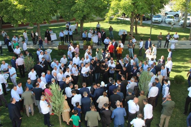 Malatya'da bayramlaşma töreni düzenlendi