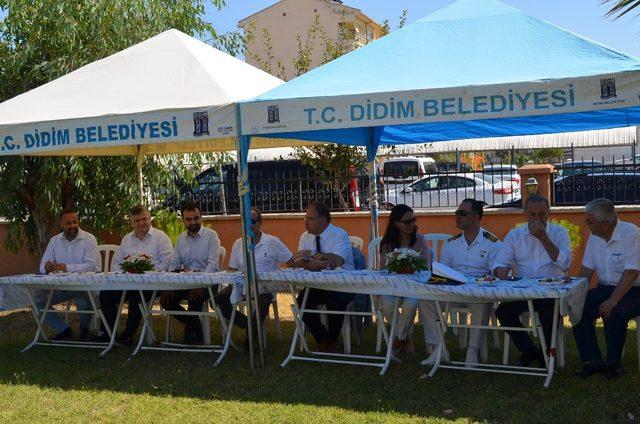 Didim'de protokol bayramının ikinci günü bir araya geldi