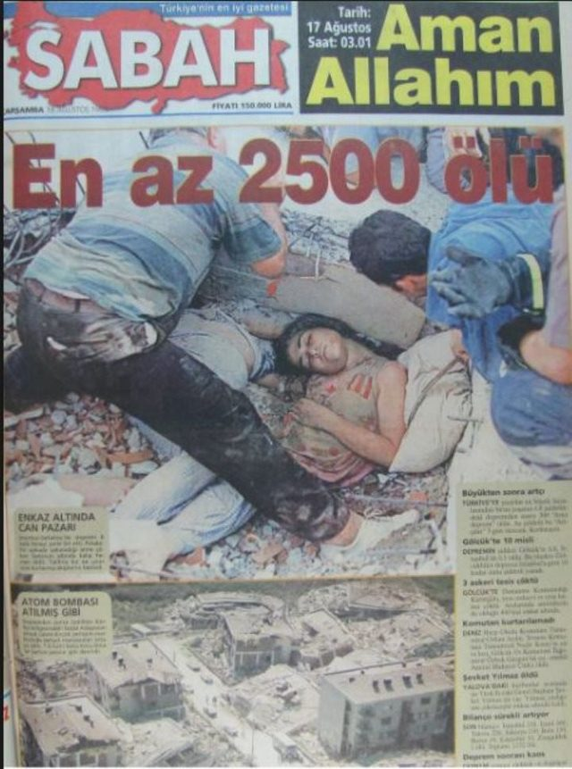 Ömür Kınay'ın fotoğrafı o dönem birçok gazete tarafından kullanılmıştı