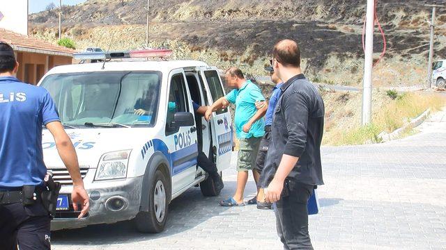 Marmara Adası'nda gözaltına alınan baba- oğul adliyede