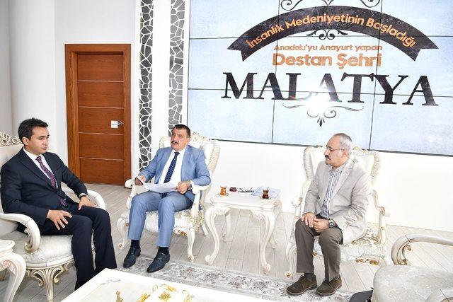 Adli Tıp Kurumu Başkanı Büyük'ten Başkan Gürkan'a ziyaret