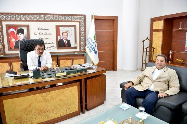MHP Teşkilatından Başkan Gürkan'a ziyaret
