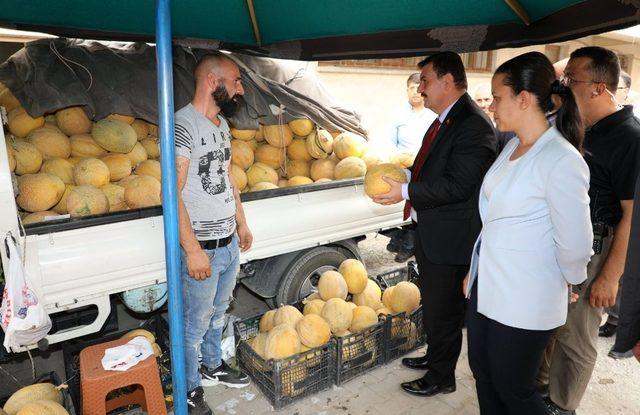 Erzincan Valisi Ali Arslantaş, Refahiye ilçesinde incelemelerde bulundu