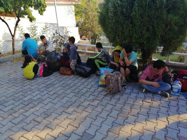 Çanakkale'de 55 kaçak göçmen yakalandı