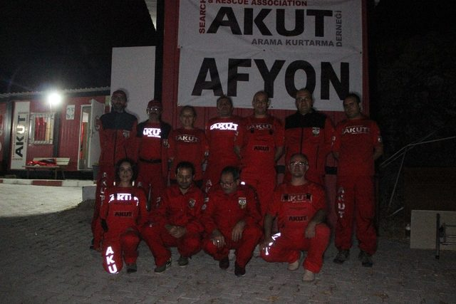 AKUT'tan Marmara Depremi'nin 20. yılında nöbet