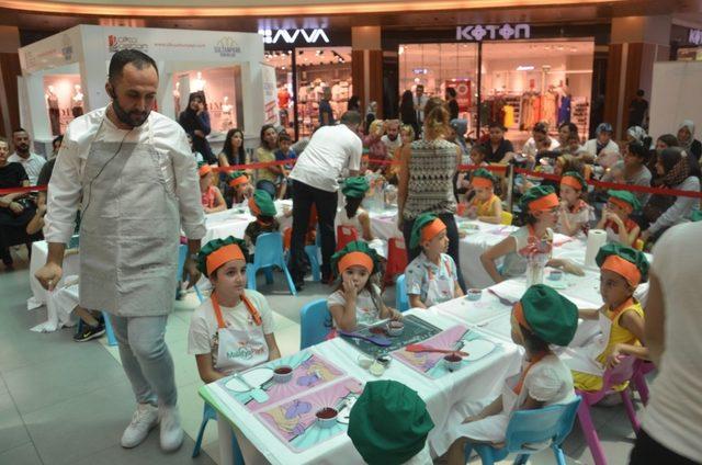 Cumali Şef'le Mutfak Atölyesi Malatya Park'taydı