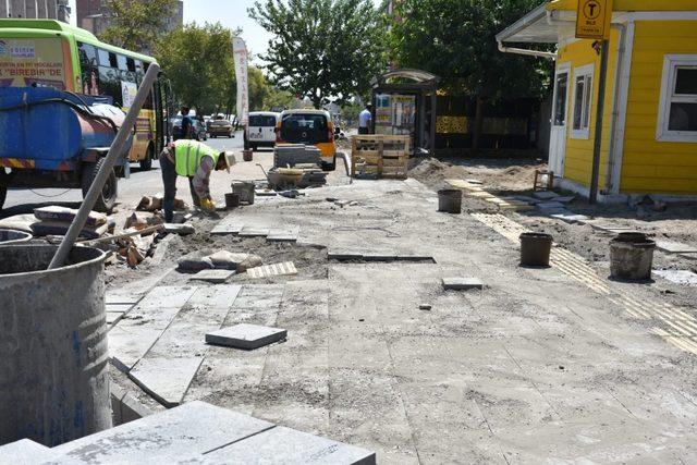 Sento Caddesi baştan sona kadar yenileniyor