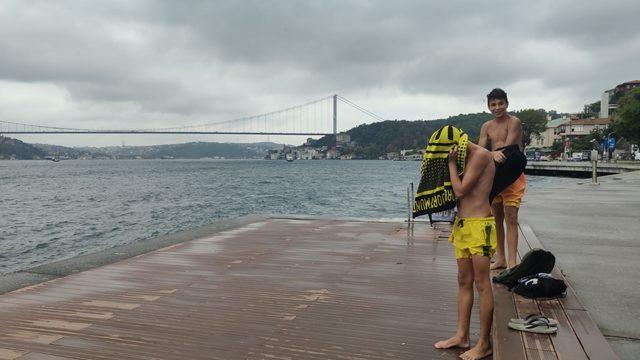 İstanbul'un 2 yakası 2 farklı iklim yaşadı