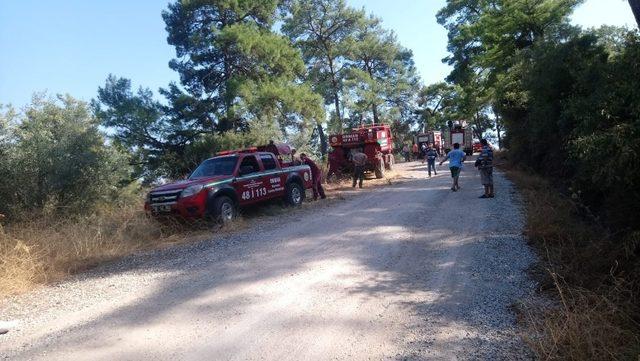Marmaris'te aynı bölgede 3 günde 3. orman yangını