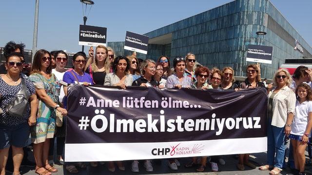 Emine Bulut cinayeti ve kadına şiddet, Bursa'da protesto edildi