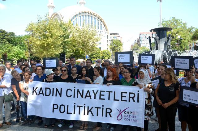 Avcılar'da kadın cinayeti protestosu