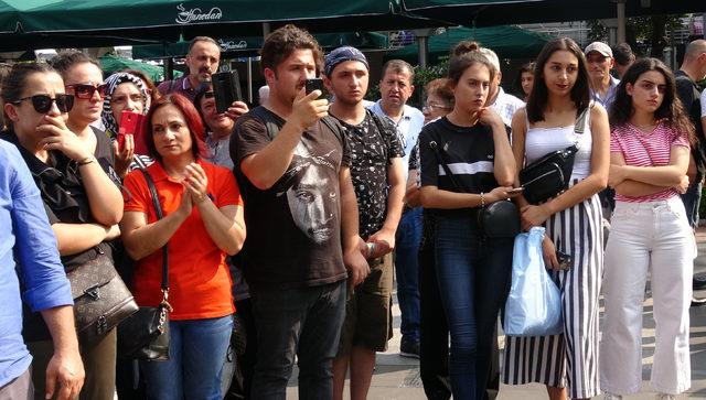 Trabzon'da Emine Bulut cinayetine tepki