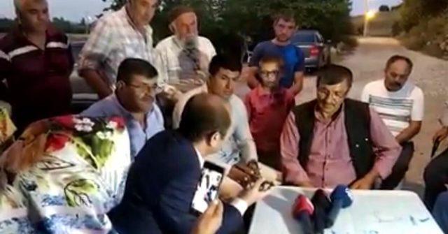 Erdoğan, Emine Bulut'un babasıyla görüştü
