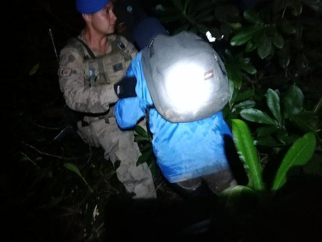 Yaylada kaybolan 6 kişi, 8 saatte kurtarıldı