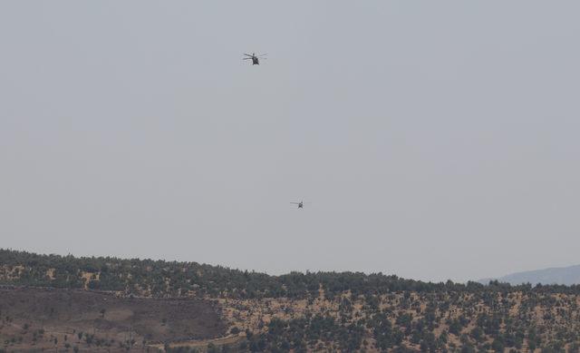 Pençe 3 Harekâtı'nda terör hedefleri vuruluyor