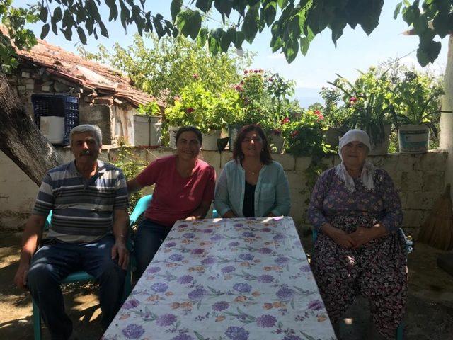Başkan Çerçioğlu'ndan hafta sonunu ziyaretlere ayırdı -