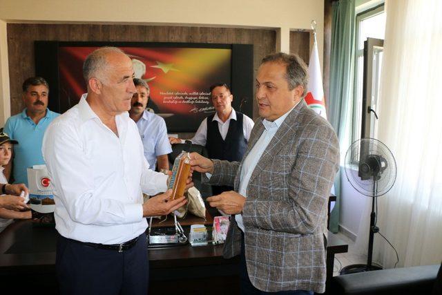 Torun ve Ağbaba'dan Hekimhan Belediyesine ziyaret