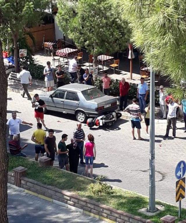 Nazilli'de AK Parti Gençlik Kolları Başkanı kazada yaralandı
