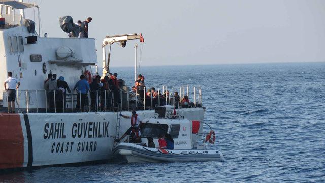 Çanakkale'de 93 kaçak göçmen yakalandı