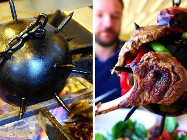 Topuz Kebabı: Osmanlı'daki Savaş Aleti Kebapçı Sofrasını Süslüyor!
