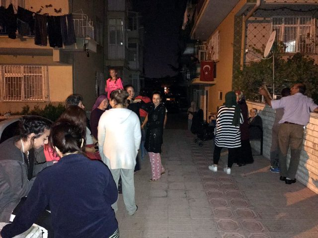 Ankara'da 3.5 büyüklüğünde deprem, vatandaşlar evlerini terk etti